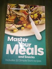 Weight Watchers MASTER YOUR MEALS & SNACKS book Cookbook diet recipe Points 2013