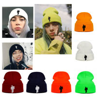 Fashion Billie Eilish Beanie Knitted Winter Hat Cotton unisex Hip-hop Warm Hat