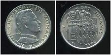 MONACO 1  franc 1974