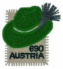 2018 Austria ,  Styrian Hat, embroidery  , MNH ** ,UNUSUAL