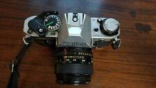 CANON  AE-1 PROGRAM CAMERA, Canon Lens FD 50mm 1 : 1.8