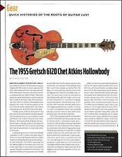 1955 Gretsch 6120 Chet Atkins Hollowbody Guitar History full page article print