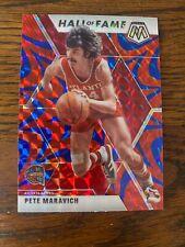 Pistol Pete Maravich 2019-20 Panini Mosaic Basketball Reactive Blue Prizm