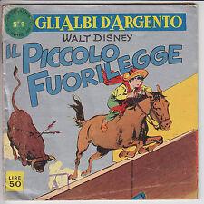GLI ALBI D'ARGENTO  n.  9  - ed. Mondadori 1958  #  buono/ottimo