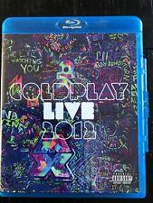 COLDPLAY Live 2012 BLU-RAY & CD