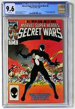 Marvel Super Heroes Secret Wars #8 CGC 9.6 Origin of symbiote/costume! Venom