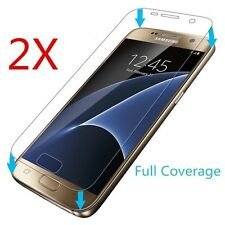 2pcs Full Screen Clear Screen Protector for Samsung Galaxy S7 PET Saver Guard