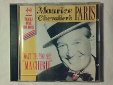 MAURICE CHEVALIER'S PARIS Wait till you see cd