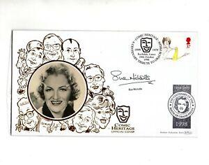 "Sue Nicholls ""Comedians Gracie Fields"" Signed Benham Cover 1998 FDC Autographed"