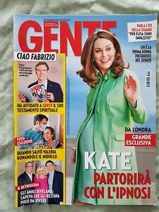 1# ITALIEN MAGAZINE GENTE N 14 2018 CLOONEY TRUMP LADY DIANA YVONNE DE ROSA