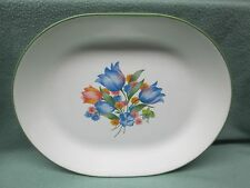 "Corelle Platter Oval Serving Dish 12"" Fresh Cut Dinnerware Plate Party USA"