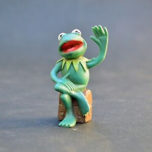 Pvc figure - The muppets show Kermit the Frog sesame street 1978