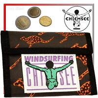CHIEMSEE Geldbeutel Damen Herren Geldtasche Stoff Portemonnaie Geldbörse leicht