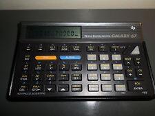 Calculatrice Texas Instruments Galaxy TI-67