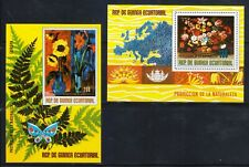 Guinea - Protection of Nature Flowers - 2 x MNH Block