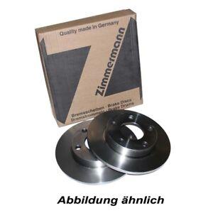 2 Zimmermann Bremsscheiben BMW 5 F10 F18 + Touring F11 330mm belüftet vorne