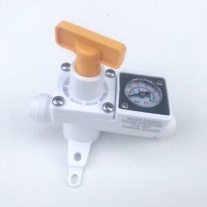 Kegland Secondary Regulator Inline Duotight Integrated Gauge 0-60 Psi KL15035