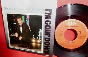BRUCE SPRINGSTEEN I'm goin' down 45rpm 7' + PS 1984 HOLLAND MINT-