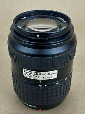 Olympus Digital 40-150mm F3.5-4.5 Zuiko Lens - Four-thirds (58) - Works Great !