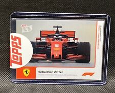 2020 Formula 1 F1 Topps Now card #15 Sebastian Vettel Ferrari Finishes in 3rd