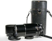 Super Takumar 200mm 1:4 Pentax M42 Screw Mount Manual Focus Lens MINT CONDITION