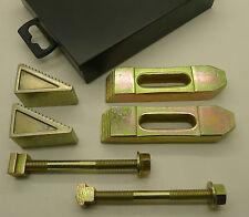 6Pce 10mm (M8) T-Slot Zinc Coated Milling Step Block Clamping Set