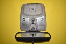 01-07 Volvo S60 Rear View Mirror Sunroof Dome Map Light OEM Gray