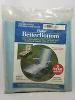 Chaise Lounge Replacement Cover Phifer Better Bottom One Piece BLUE ILLUSION