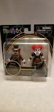 ALICE THROUGH THE LOOKING GLASS MINIMATES MAD HATTER AND RED QUEEN