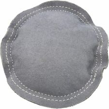 "Leather Sand Bag 5"" Round Jewelry Bench Anvil Dapping Block Chasing Engraving"