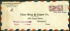 USA 1931 crash cover/unlisted color h.s.