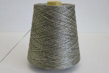 B52 (76,91€/kg) 650g 100% REINE SEIDE / PURE SILK SILBER-TURMALIN (8) Wolle Lace