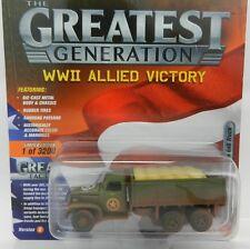 Johnny Lightning *GREATEST GENERATION MILITARY 1B* WWII GMC CCKW 6x6 Truck *NIP*