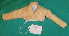 Butter Yellow Faux Suede Shrug for Barbie Doll & Teen Skipper Doll BSTP17s