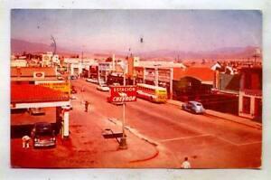 The Ruiz Avenue Ensenada MEXICO *1961 NICE CHEVRON SIGN*