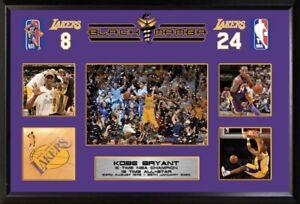 Kobe Bryant Framed Photo Montage Lakers