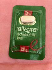 Pharmaceutical drug rep sealed Allegra sample