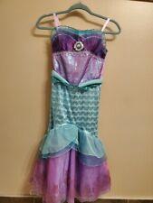 Disney girls size 9/10 mermaid princess dress, never worn