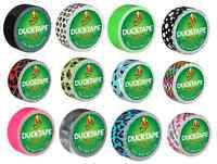 Duck Tape Mini DUCKLINGS Colours & Patterns Repair Craft Waterproof 19mm x 4.5M