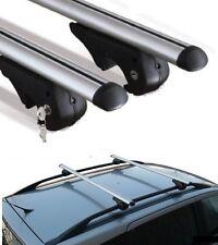 barre portatutto porta pacchi bagagli alluminio universali per auto sw Brio 120