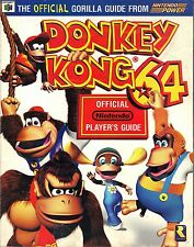 Donkey Kong 64 Official Nintendo Players Guide Nintendo Power PB 1999