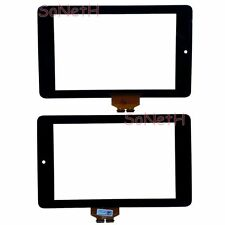 "Vetro Touch screen Digitizer 7,0"" Asus Google Nexus 7 ME370TG 1a gen. Nero"