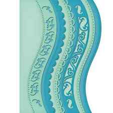 Spellbinders Nestabilities Die ~ A2 CURVED BORDERS ONE ~ S5-180
