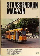 Straßenbahn Magazin Heft 36 Mai 1980, S. 81-160 Franckh'sche Verlagshandlung