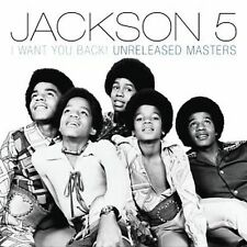 The Jackson 5 I Want You Back! Unreleased Masters CD NEW Michael Jermaine