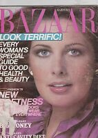 JAN 1978 HARPERS BAZAAR vintage ladies fashion magazine