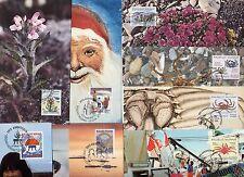 8 Maximumkarten Grönland   aus  1992 - 1993-   KW 25,50 €  ( 24273 )