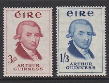 IRELAND 1959 ARTHUR GUINNESS PAIR SG 178-179 MNH.