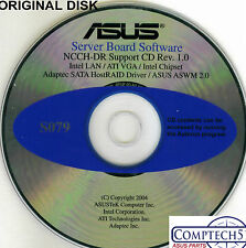 ASUS GENUINE VINTAGE ORIGINAL DISK FOR NCCH-DR SERVER Drivers Disk S079