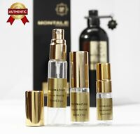 Oudmazing Montale Paris EDP unisex perfume sample travel size 2~2.5~3~5~10ml